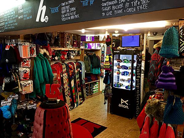 Halfpipe London store