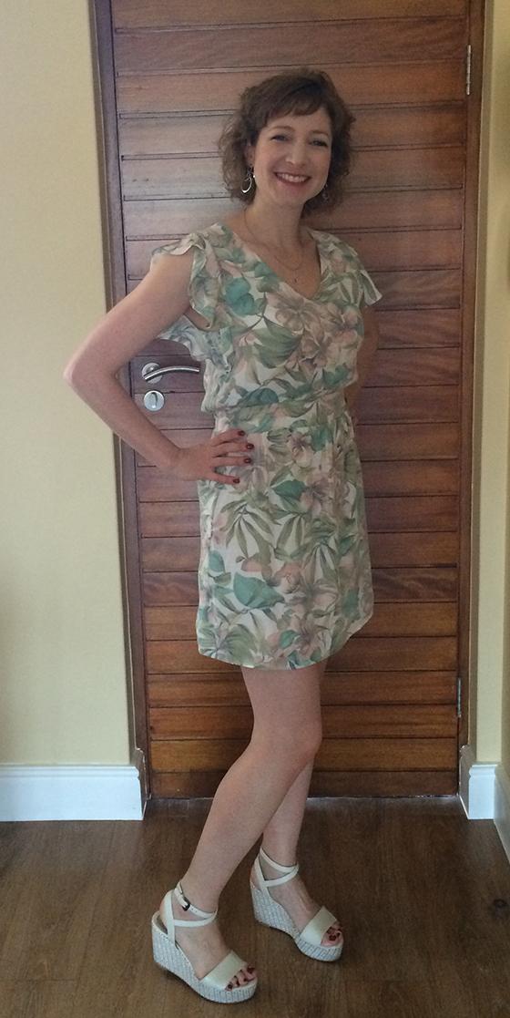 Keren in her dress
