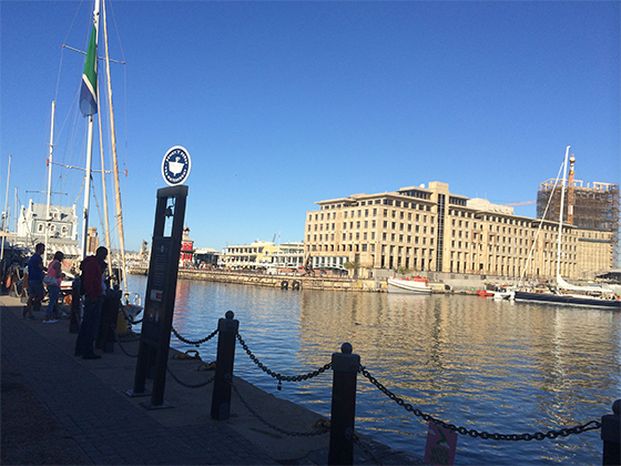Cape Town Waterfront - when Amy and Keren visited