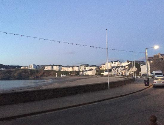 Keren's talk in the Isle of Man - the tour