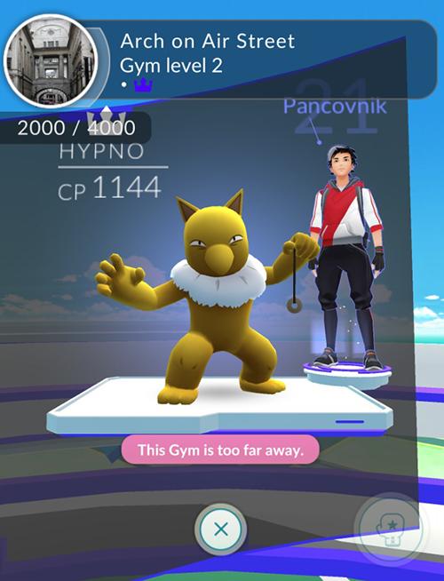 Pokemon Go Soho gym