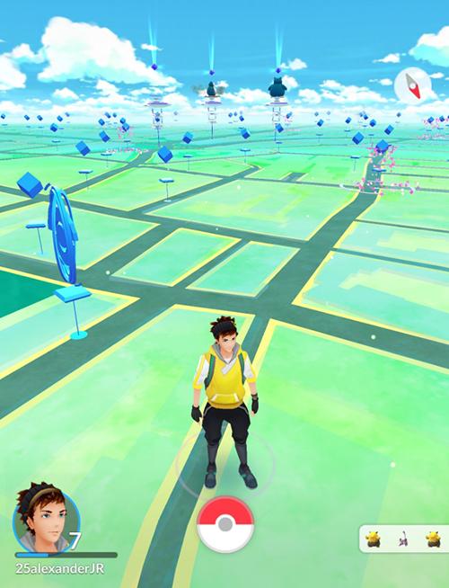 Pokemon Go Soho gyms