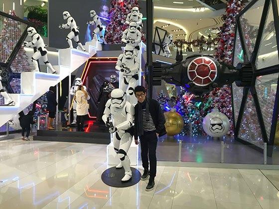 (IAPM Mall Christmas, Shanghai, 2015)