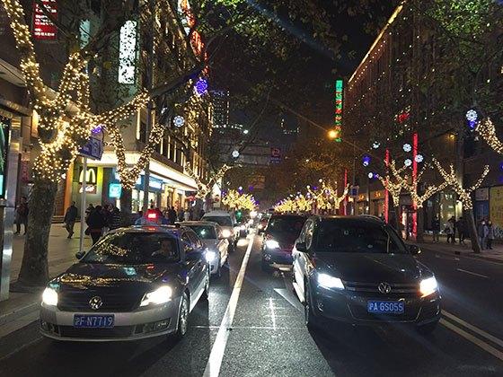 (Middle Huaihai Road, Shanghai 2015)