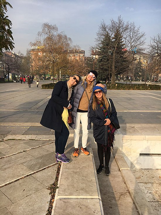 TLD in Bulgaria - Tam, Amy and Elisa