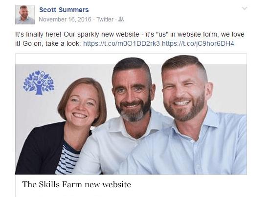 Skills Farm Launch Post