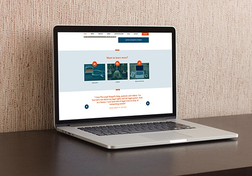 The Legal Seagull website
