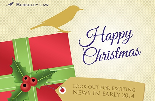 Happy Christmas from Berkeley Law