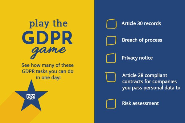 Play the GDPR Game