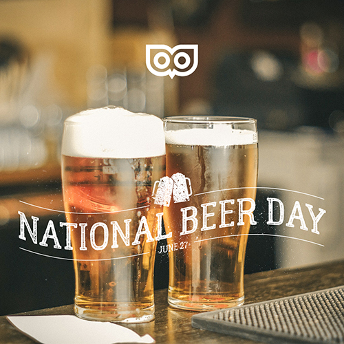 August 3 - National Beer Day