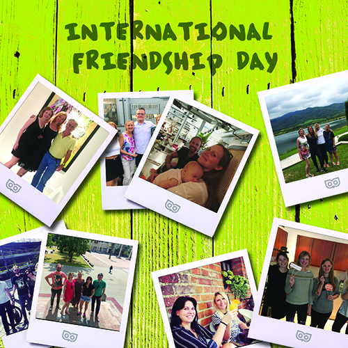 July 30 - International Friendship Day