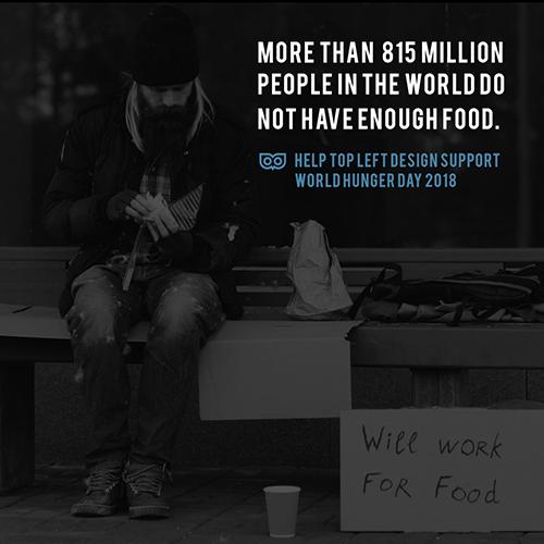 May 28 - International Hunger Awareness Day