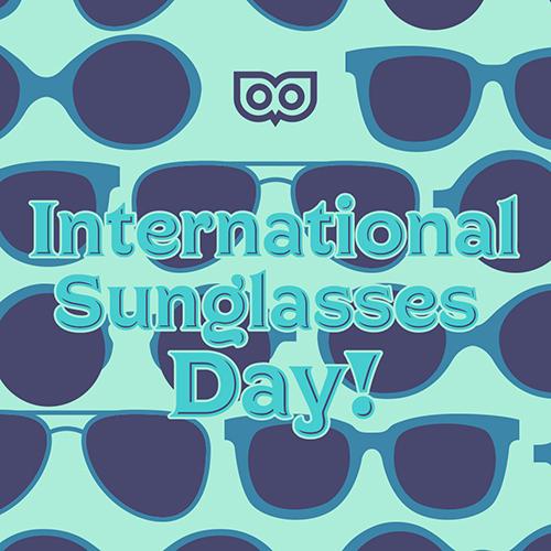 Just 27 - International Sunglasses Day