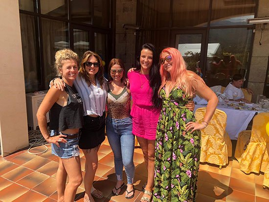 Udaya Live - Maxine, Amy, Candice, Lamorna,, Tam - August 2019