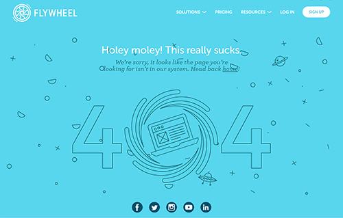 flywheel 404 page