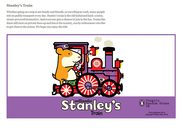 Stanley's Train - part of the Stanley's Adventure's series