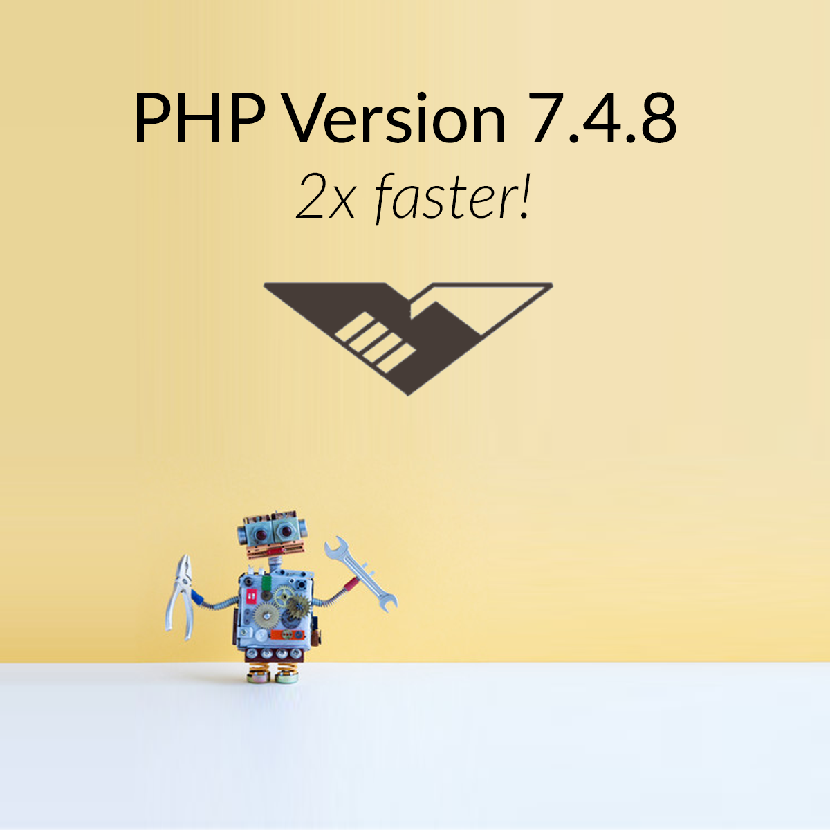 PHP Version 7.4.8 - 2x faster!