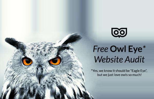 Owl Eye Offer from Top Left Design