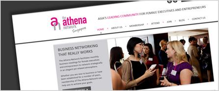 Athena Singapore Website