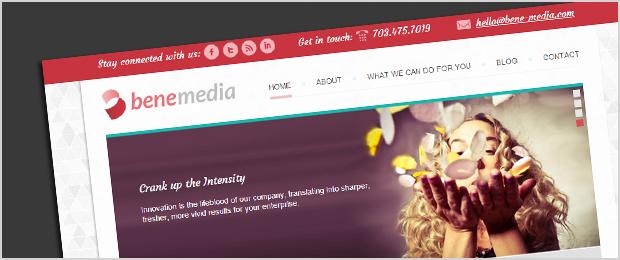 Bene Media website