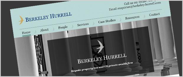 Berkeley Hurrell Website
