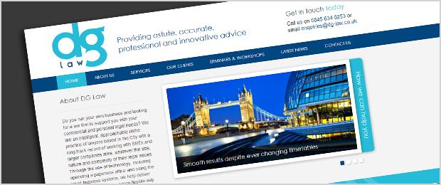 DG Law Website