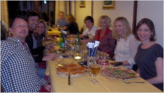Dinner in Lake Como