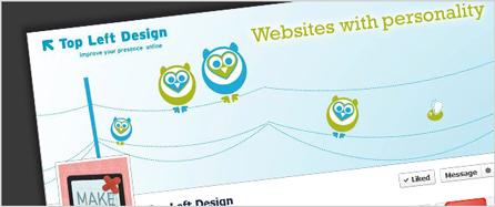 Top Left Designs Facebook Timeline