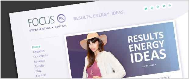 Focus PR Website