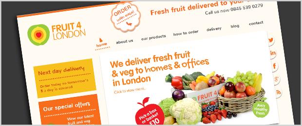 Fruit4London Website