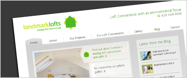 Landmark Lofts website