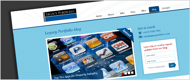 Legacy Portfolio blog