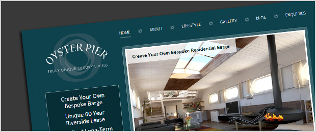 Oyster Pier website