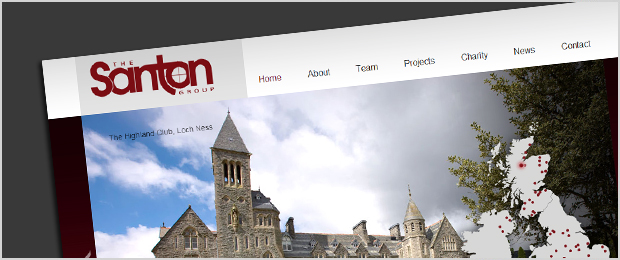 Santon Group website