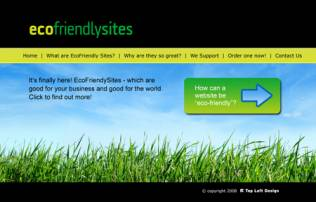 EcoFriendlySites - launched at last!