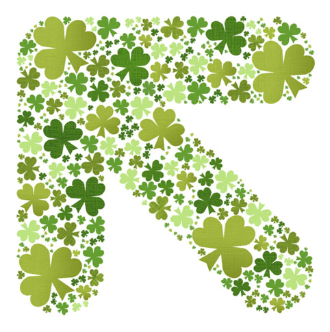 TLD's homage to Saint Patrick's Day
