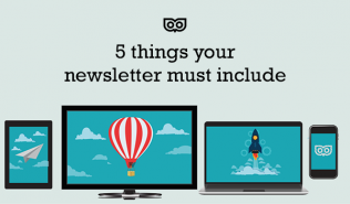 5 things your newsletter must include