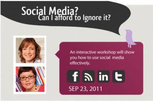 Social Media – Can you afford to ignore it? 23rd September 2011 at 38 Devonshire Street