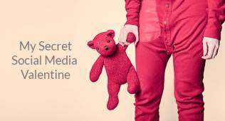 My social media Valentine sected