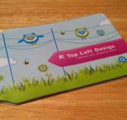 Our Oyster Card holders have arrived – hooray!