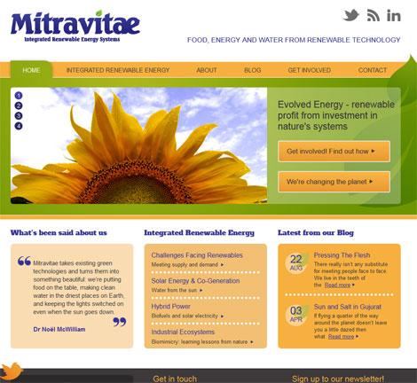 Shiny new Mitravitae website
