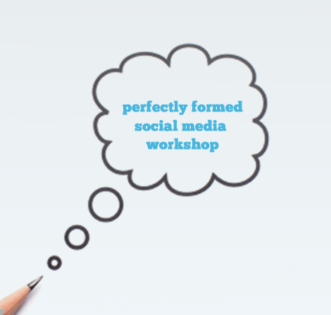 Ever wanted to attend a small but perfectly formed social media workshop with me, but were too shy to ask?
