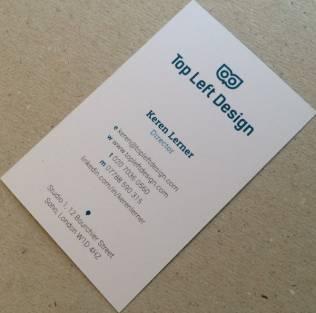 Business card - Keren