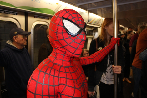 How to feel like a superhero in New York (guest post from Mark Lynch)