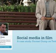 Social media in film: Forrest Gump on Twitter