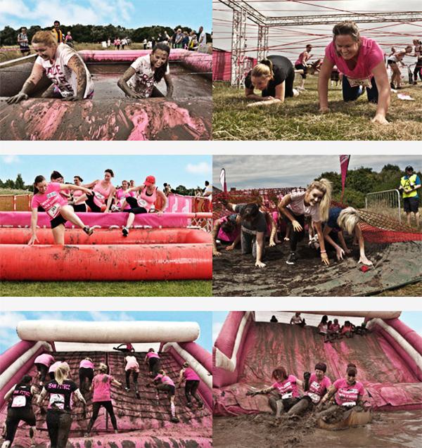 Muddy Run - obstacles
