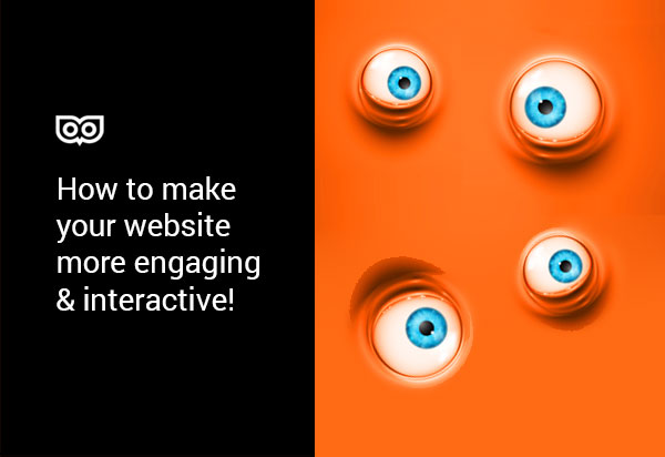 How do we make our website more engaging and interactive?