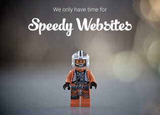 Speedy Websites - we only have time for these!