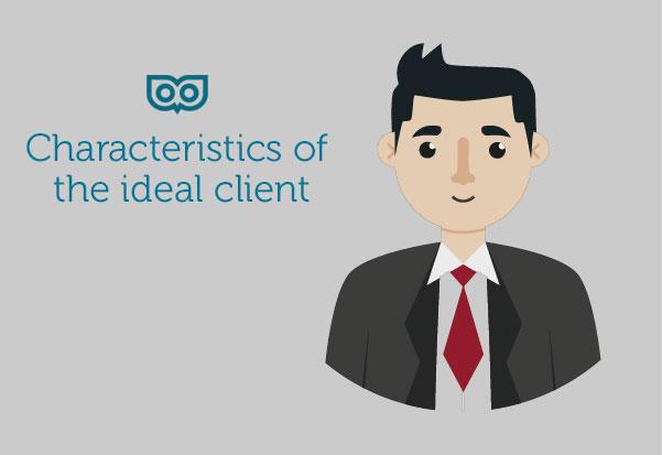 Characteristics of an ideal client - Top Left Design