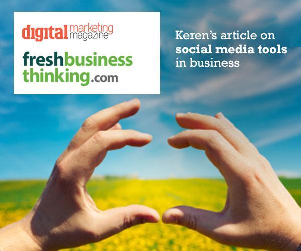 Keren's article on social media tools in business